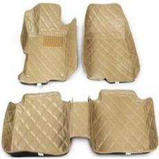 马自达5通用3D立体真皮皮革高边加厚汽车脚垫批发