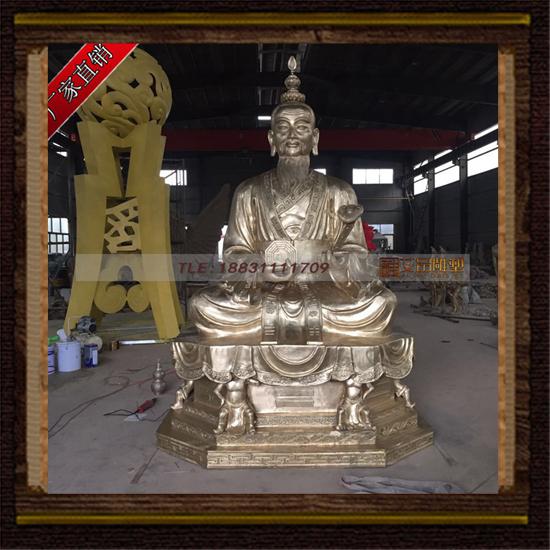 大型太上老君 太上老君铜雕塑 寺庙铜佛像 广场人物铜像