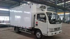 厂家供应小型冷藏车 东风1.5吨冷藏车价格厢体厚度8mm