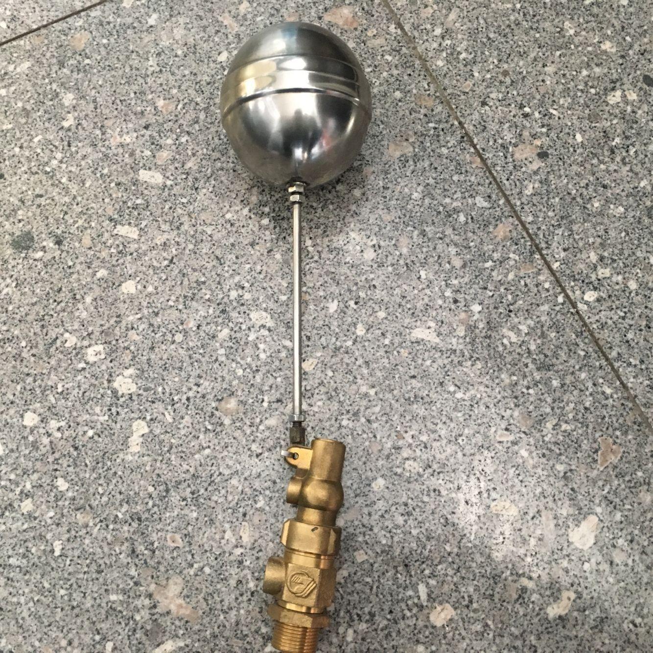 杰克龙黄铜调节浮球阀 水箱专用 4分6分液压浮球阀 正品保.图片