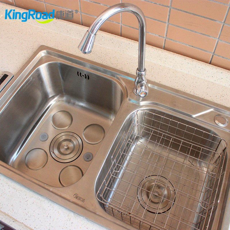 家用现代化解毒水槽装置可拆卸式超声波解毒清洗机KD-1158