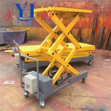 加工定做小型升降台 液压升降机 现货供应移动升降平台