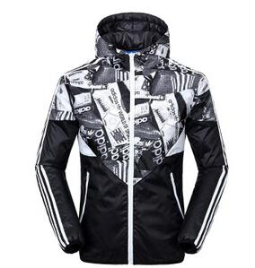 2014秋冬新品 男士外套加绒加厚防寒运动棉衣外套 -F69825
