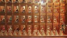 江西渡海科技专业生产销售万佛墙,智能万佛墙,铝合金万佛墙,佛龛