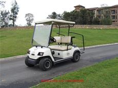 A2电瓶车车带四轮车高尔夫车观电动车瓶车两用景区观光车绿通人代