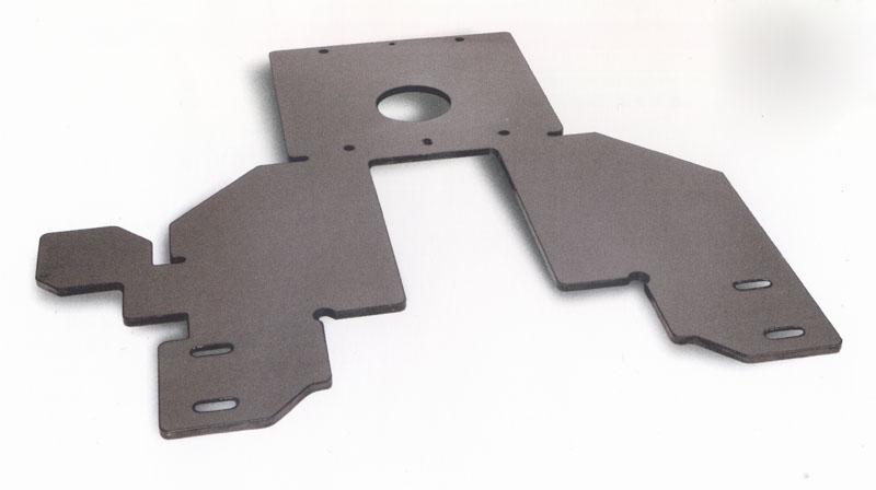 支架5mm厚钢板激光切割加工