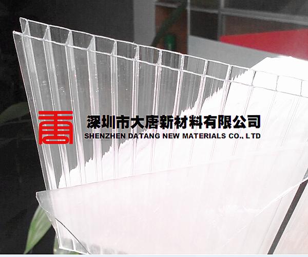 光明大唐层压PC板规格--宝安顶棚防雨pc板-龙华厂家直销pc空心板