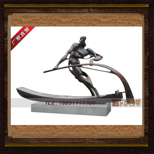 供应  划船铜雕塑品牌雕塑 品牌雕塑 厂家直销