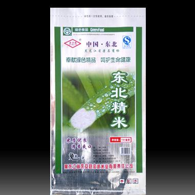 奉献绿色精品呵护绿色健康东北精米