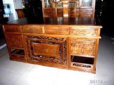 供应 红木家具 明清古典 仿古实木花梨木 办公桌 椅子