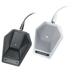 Audio-Technica 铁三角 U851R U851RW电容界面麦克风界面桌面话筒