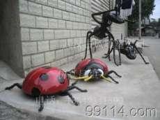 仿真昆蟲雕塑、仿真螞蟻