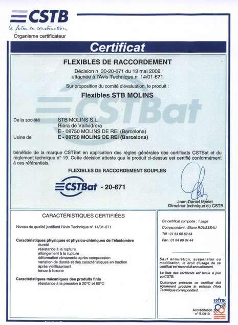 CSTB认证
