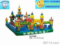 充气玩具 充气城堡 迪士尼城堡