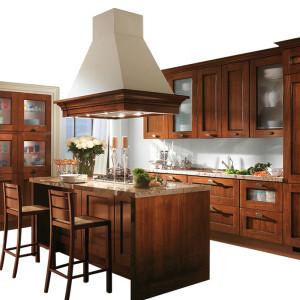 供应   纯实木橱柜 定制实木厨房厨柜