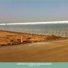 沈陽軍區太陽能溫室加溫系統