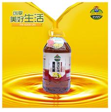 纯香菜籽油 5L物理压榨食用油 非转基因植物油