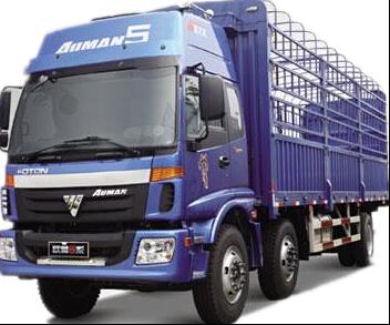 福田歐曼6.8米高欄貨車