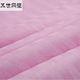 丝绸【40支缎条粉色蚕丝被成品】桐乡蚕丝被芯