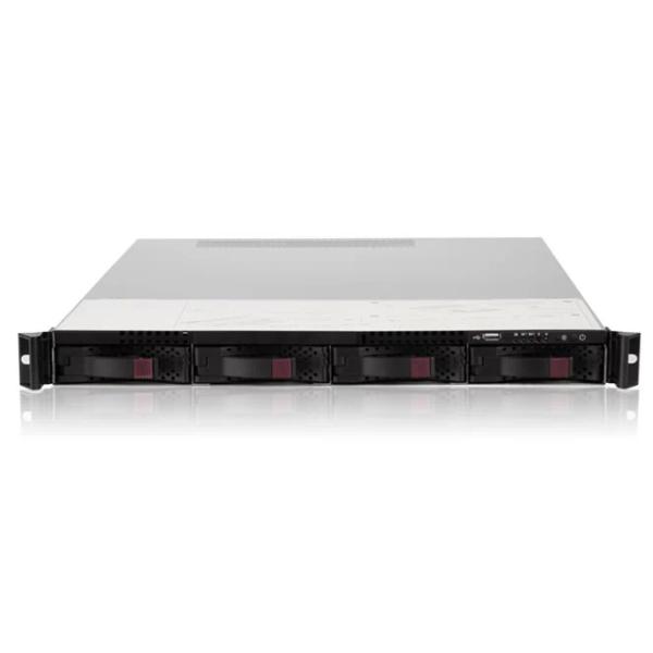 4盘位工业级网络硬盘录像机 视频管理服务器 流媒体转发 监控存储