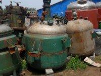 二手不锈钢反应釜电加热不锈钢反应釜出售