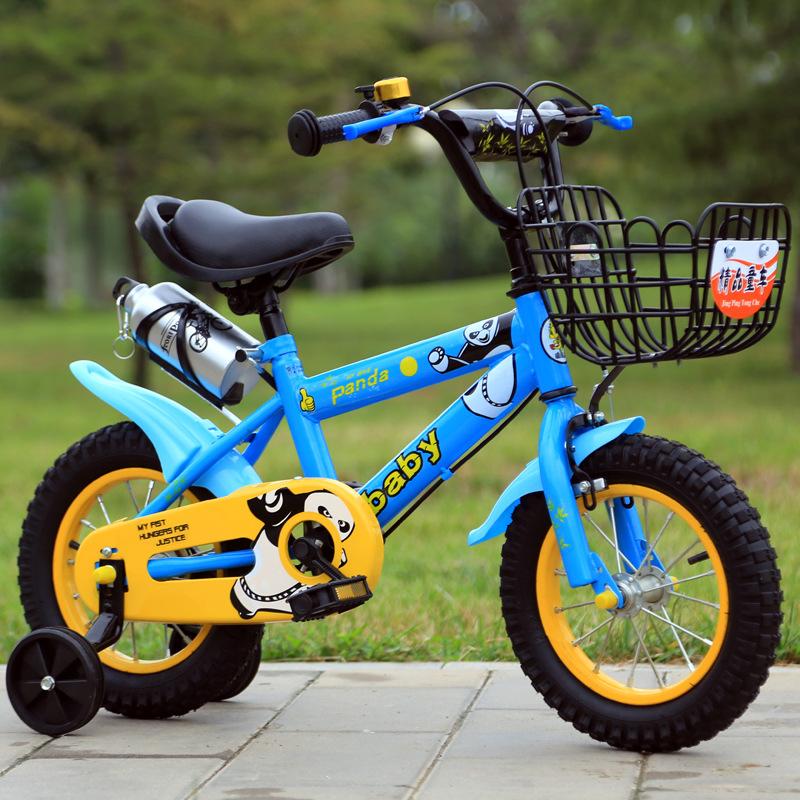 厂家直销批发蹦蹦龙儿童山地自行车3岁童车12寸14寸16寸赠品礼品10