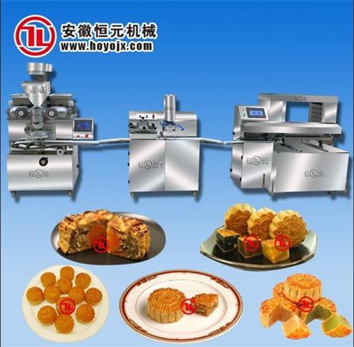 月饼机、恒元机械、自动月饼机