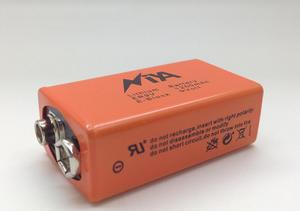 厂家直供大容量ER9V1200mAh锂氩电池 消防烟雾感应器专用锂亚电池