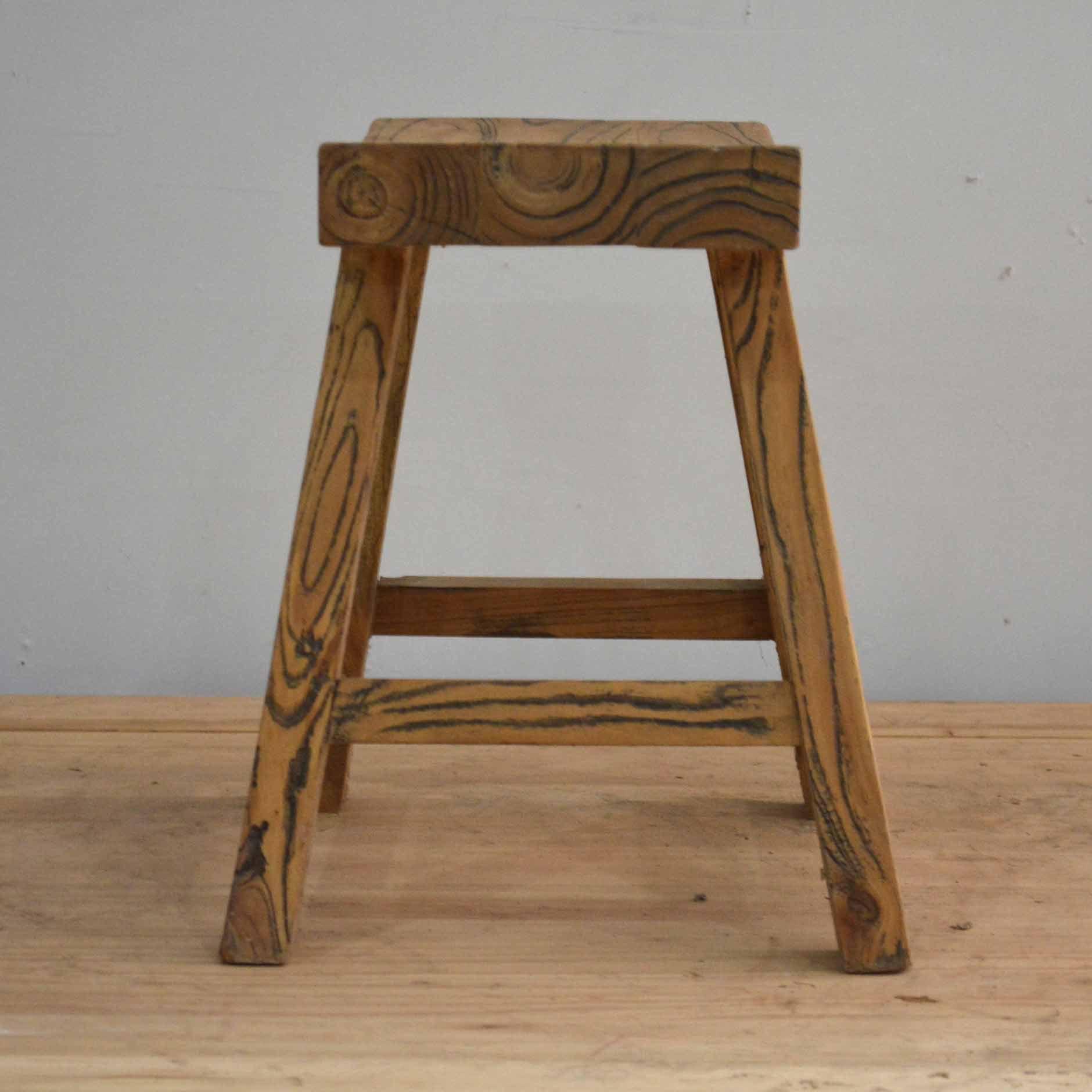 手工木凳坐凳 全实木创意小矮凳子 成人原木方板凳图片