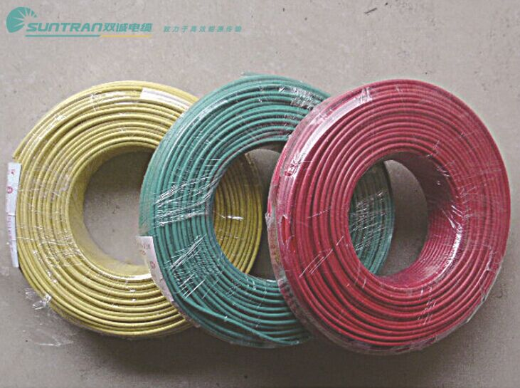 双诚电线电缆 BV-6平方 国标单芯铜芯家用中央空调线