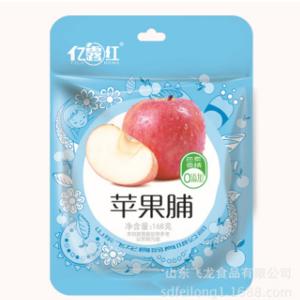 亿露红 苹果干 定量装188g袋装 无添加休闲零食