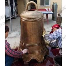 铜钟铸造-仿古铜钟- 河北志彪雕塑公司供应各种铜钟