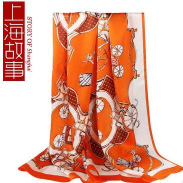供应 杭州丝绸2016新款桑蚕丝丝巾