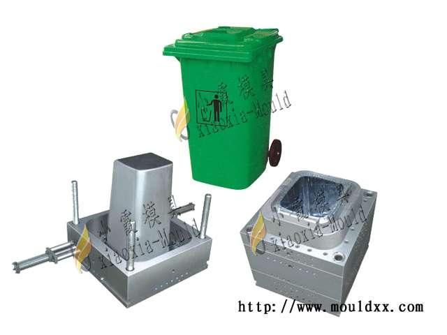 生产多功能垃圾桶模具