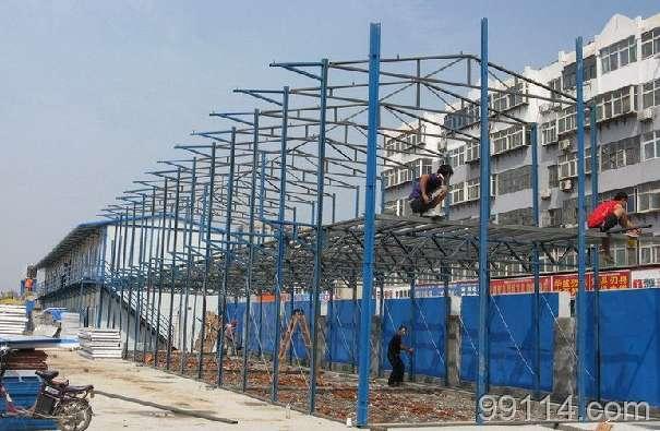 夹心板活动房,彩钢板活动房制作、安装价格_生产厂家
