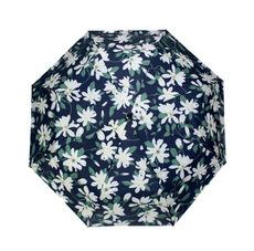 供应 百合花创意太阳伞黑胶布涂层防紫外线遮阳伞超轻晴雨伞折叠三折伞