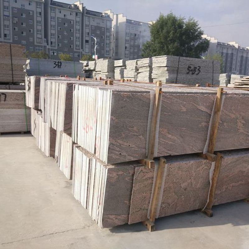 供应加州红麻花岗岩河南加州红龙石材工厂低价促销