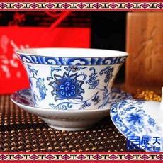 茶艺茶碗套装 厂家直供传统手工高白瓷泡茶碗