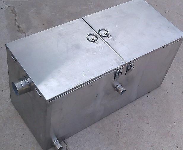 宁波餐饮业环保检查必备的食堂厨房油水油水分离器隔油池