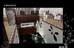 餐厅装饰西鹏装饰甘肃KTV设计兰州咖啡厅平办公室50装修设计图片