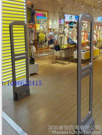 性能稳定,宽门距服装超市防盗门,声磁服装超市防盗系统HTA-S011