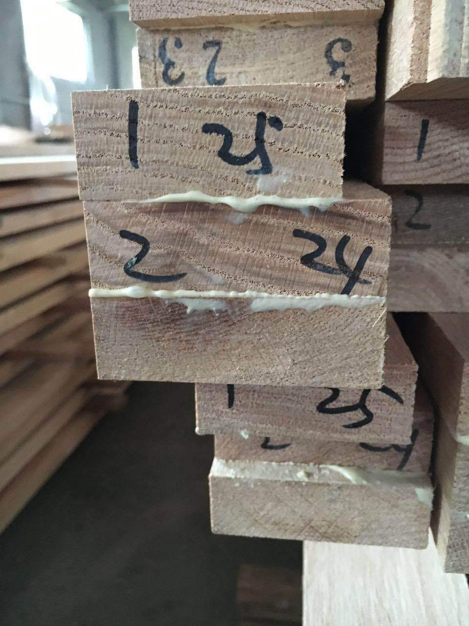 红橡木铝包木T型材加工定制厂家直销