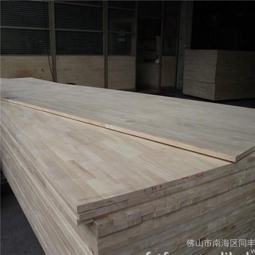 4200900橡胶木指接板楼梯板同丰木业