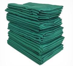 手术室布类制品双层孔巾美容院包布医用包布洞巾剖腹单单层治疗巾
