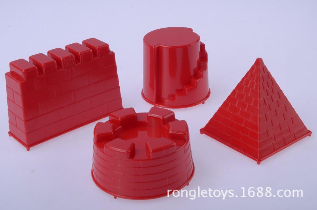 儿童益智梦幻大城堡模具 玩具沙太空魔力沙专用玩沙工具