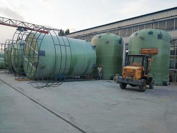 优质的玻璃钢储罐就在翕赫环保科技有限公司-玻璃钢储罐批发价格