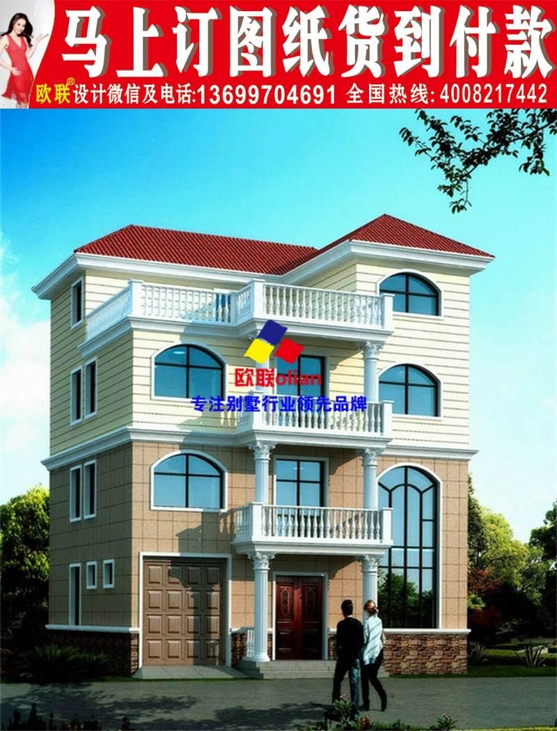 两层半20万房屋自建房农村设计图R87乡村v房屋规划设计经典案例图片