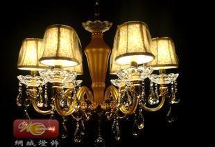 网城 供应优质蜡烛水晶灯高档蜡烛水晶吊灯酒店蜡烛水晶灯