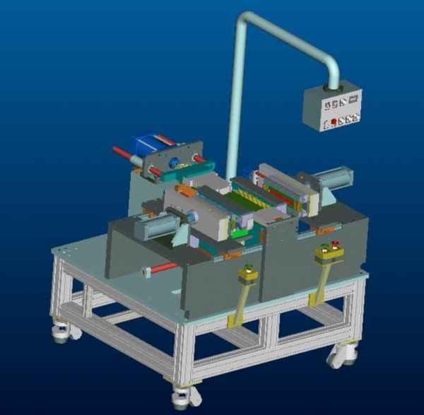 汽车水箱芯体装配机