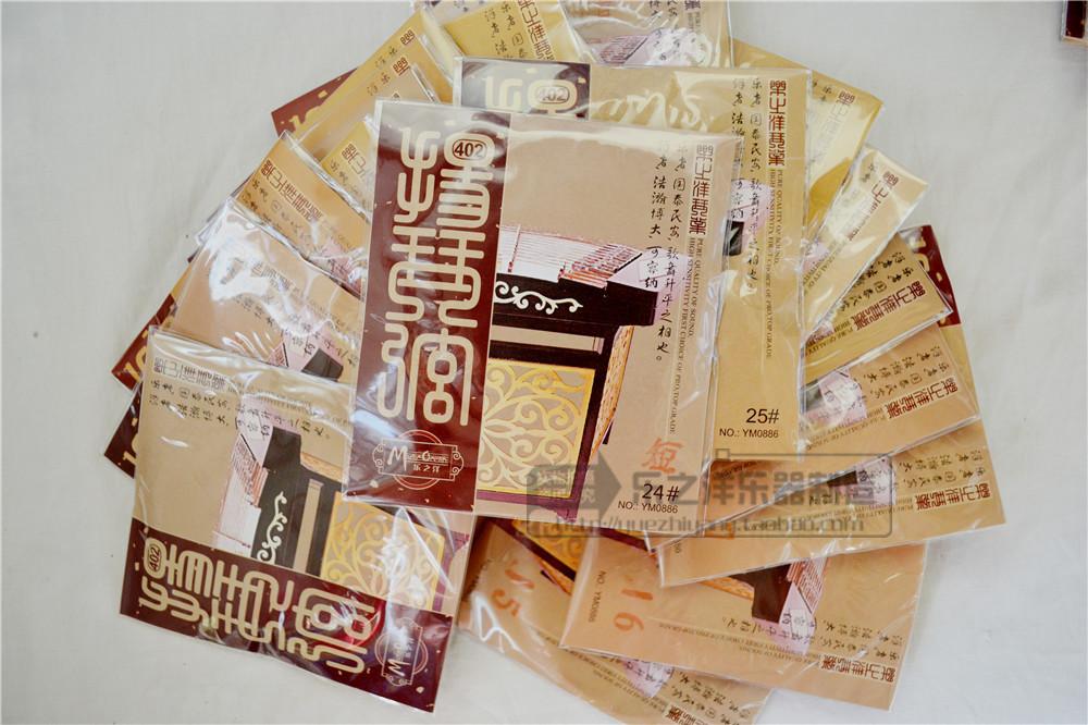 乐之洋厂家直销 402扬琴缠弦 15-25号 银丝缠弦 扬琴弦 扬琴配件图片